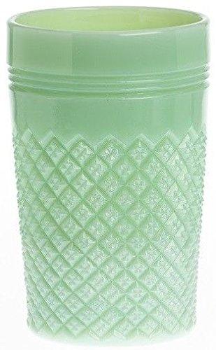 Tumbler - Addison Pattern Mosser Glass USA (Jade)