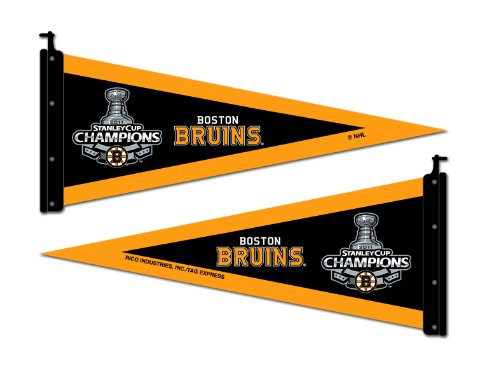 NHL Boston Bruins Stanley Cup Champions Antenna Pennant
