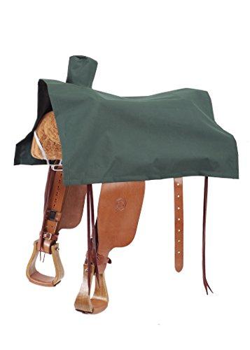 Buckaroo Saddle - Colorado Saddlery The 14-184GR Deluxe Western Saddle Cover, Hunter