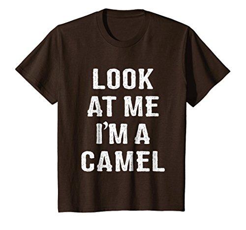 Kids Funny Camel Halloween Costume Shirt 6 Brown
