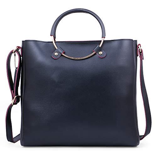 Speed X Fashion Women's Handbags And Shoulder Bag Combo (Black)