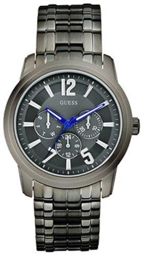 Guess U13630G1 gunmetal bracelet watch