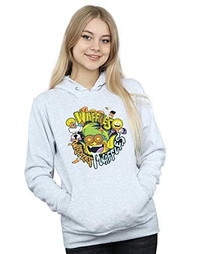 Titans Mania Go Comics Deporte Waffle Dc Mujer Teen Gris Capucha ap6tYIxn