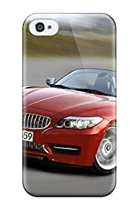 Hot Design Premium MRANfTn6171WZGRJ Tpu Case Cover Iphone 4/4s Protection Case(new Bmw Z4 2011 Car)