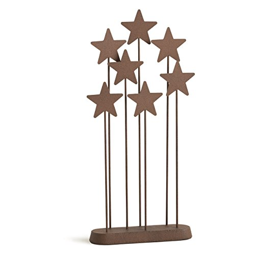 Willow Tree Metal Star Backdrop, hand-painted nativity accessory