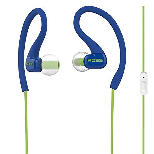 Koss KSC32i B Sport Clip Headphones, Blue