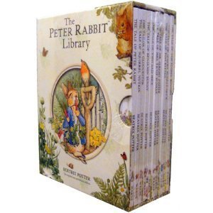 Beatrix Potter Peter Rabbit Library 10 Book Box Set for sale  Delivered anywhere in USA