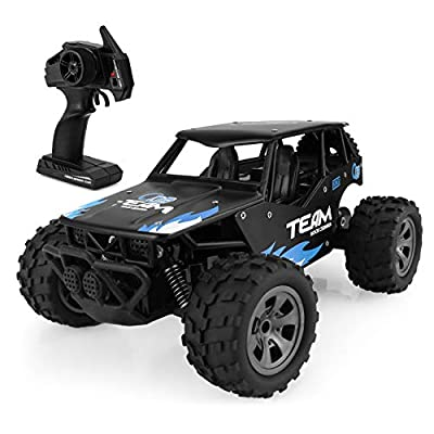 ShamBo RC Cars, RC Car with Two Battery 2 WD 2.4Ghz 1/18 Crawlers Off Road Vehicle Toy Remote Control Telecar Car,?RC Vehicles Blue Color | Educational Computers