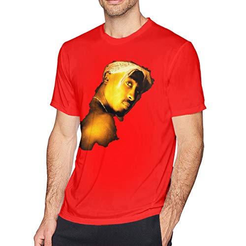 Sintee Tupac Shakur Men's Short Sleeves Casual T-Shirt M -