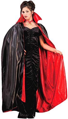 (Reversible Satin Vampire Cape Costume)