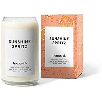 Homesick Scented Candle, Sunshine Spritz