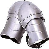 Small Steel Markward Spaulders Medieval Armor Cosplay LARP Shoulder Armour