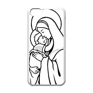 New Fashion Case before Back PC case cover Virgin Mary years Christian and Child Baby Rd2wYanc34W Jesus safe protective PC case cover for towel iphone 4s