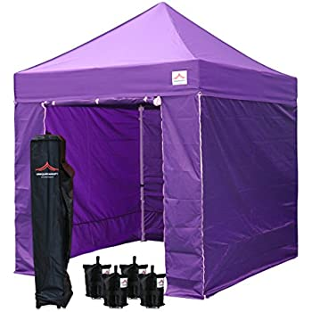 Amazon Com Uniquecanopy 8 X8 Ez Pop Up Canopy Tent