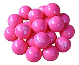 Bubble Gum Balls - Pink Lemonade, 1 Inch, 5 lb bag