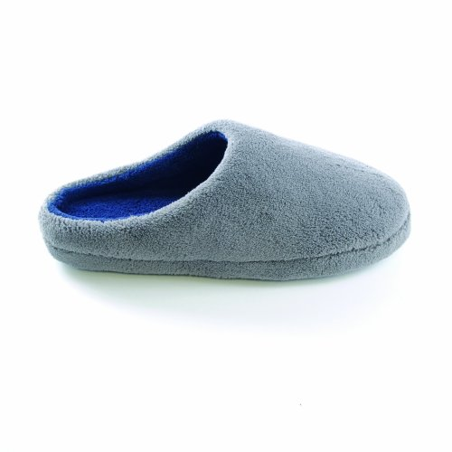 Universal Fleece Mens Grey On Slippers Textiles Slip Classic wwETxHrq