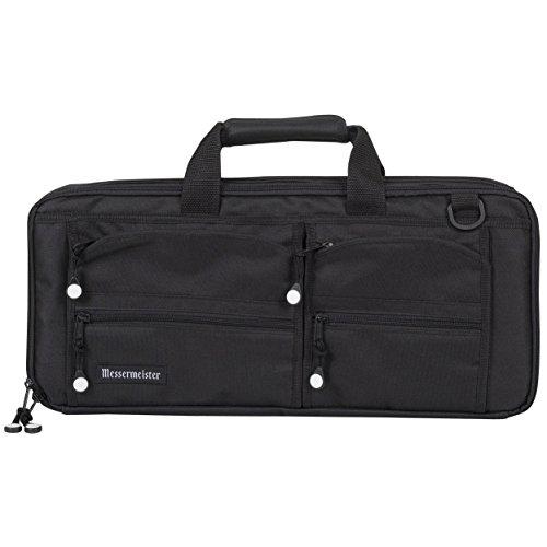 - Messermeister 18 Pocket Meister Chef Knife Bag, Black
