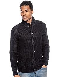 Men's Full Button Cardigan Sweater