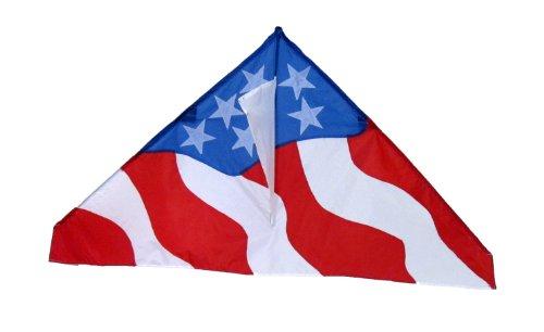 In the Breeze Patriotic Delta Kite, 57-Inch