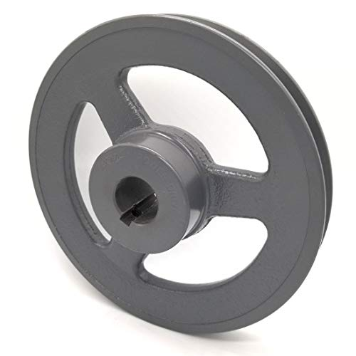 V-Groove Drive Pulley - 7'' Dia. - 1'' Bore - Cast Iron ()