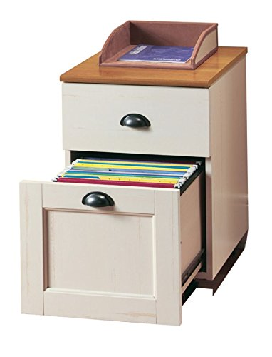 Realspace(R) Shore Mini Solutions Rolling Pedestal File, 22 1/4in.H x 15 1/2in.W x 19 1/2in.D, Antique White