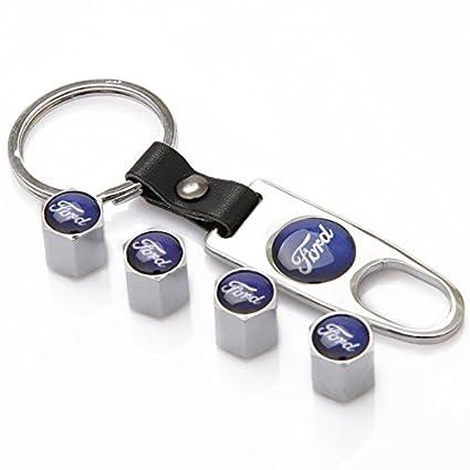 A Set of 5 Pcs Zhmyyxgs Car Tire Valve stem caps Accessories Logo for Subaru