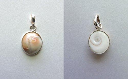 - Shiva shell Stone Pendant P07