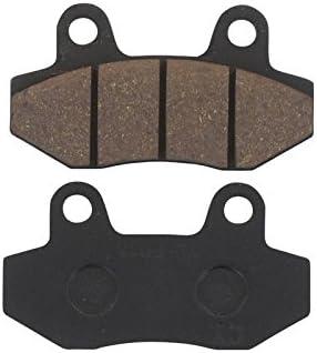 Xfight Parts Bremsbelag Satz Doppelkolben Bremszange Ohne Widerlager 77 3x42 2x7mm 2takt 50ccm Yy50qt 28 Auto