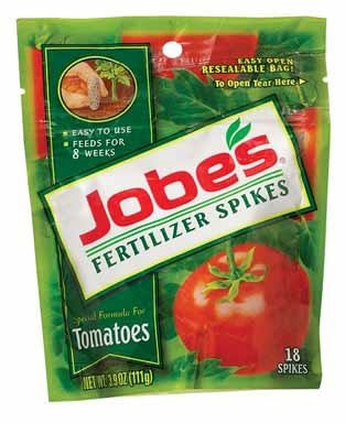 Jobe's Tomato Fertilizer Spikes, 6-18-6 Time...
