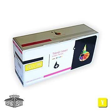 Cartucho DE Toner Amarillo Compatible C900 Y para Impresora ...