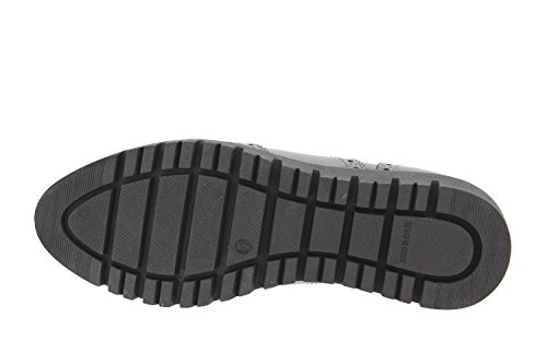 Komfort Damenlederschuh Piesanto 9706 Stiefeletten schuhe bequem breit Negro