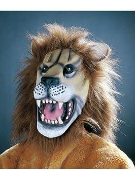 Adulto león máscara de la cabeza
