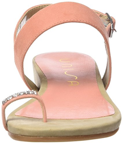 Unisa Alfe_ks - Sandalias de dedo Mujer Rosa - Pink (ANGELIC)