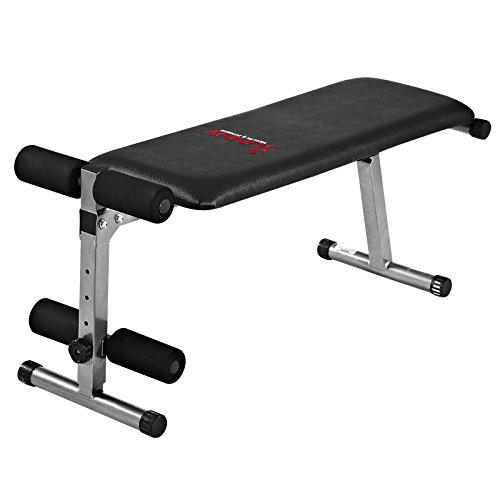 Sunny Health & Fitness SF BH6505 2 In 1 Flat/Sit Up Bench