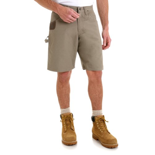 Wrangler Riggs 3W320 Men's Ripstop Carpenter Short Dark Khaki 46W ()