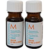 Moroccan Oil Treatment - Light - For Fine & Light Colored Hair - .34 Oz/10 Ml (Lot of 2)