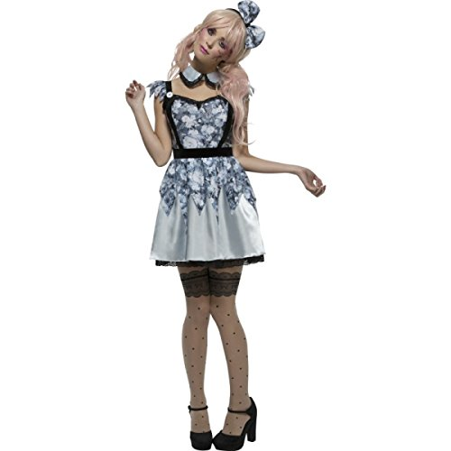 [Fever Broken Doll Annie Costume Ladies Costume (Small)] (Broken Doll Costume For Adults)