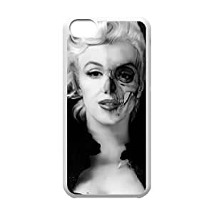 Cool Painting Zombie Marilyn Monroe Unique Fashion Printing Phone Case for Iphone 5C,personalized cover case case692533