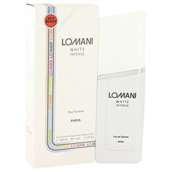 Lomani Lomani Lomani white intense by lomani for men - 3.3 Ounce edt spray, 3.3
