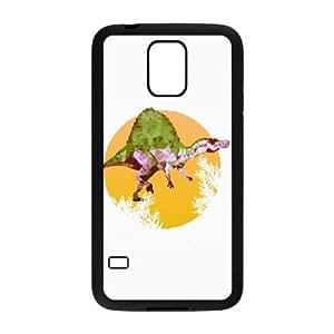 Samsung Galaxy S5 Cell Phone Case Black PARTY SPINOSAURUS BNY_6870422