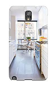 First-class Case Cover For Galaxy Note 3 Dual Protection Cover White Galley Kitchen With Dark Floor And Dining Area