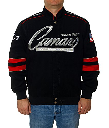 Chevy Camaro Cotton Twill Jacket - Code Ski Sun Coupon &