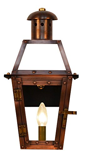 Cheap The CopperSmith Georgetown 15.5″ 1 Lite Electric lantern
