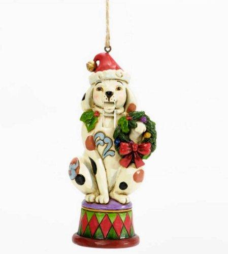Jim Shore for Enesco Heartwood Creek Dog Nutcracker Ornament, - Dog Nutcracker