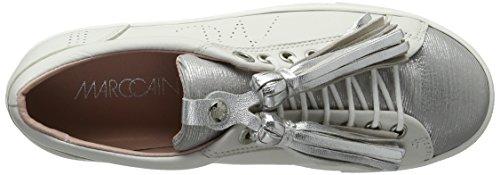 Marc Cain Gb Sh.12 L18, Zapatillas Mujer Blanco (White 100)