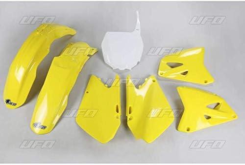 UFO - Kit de plástico completo compatible con Suzuki 125 250 RM 01-02 / OEM original