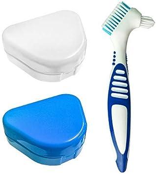 2pcs Caja de retención de ortodoncia delgada con orificios de ventilación, Caja de contenedores de almacenamiento de prótesis Estuche Dental para retenedores de ortos Deportes, aparatos dentales: Amazon.es: Salud y cuidado personal