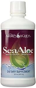 SeaAloe Liquid Whole Food 1 Bottle - 32 Ounces