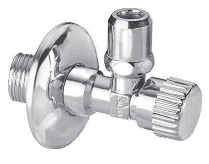 Cornat Válvula angular (1/2 pulgadas, incluye embellecedor, 6 unidades, 1