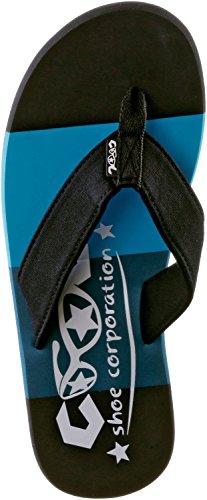 de Lona azul para Shoes Sandalias Azul hombre Cool EqTaHOP